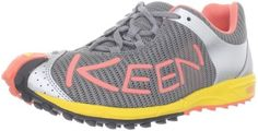 KEEN Women's A86 TR Trail Running Shoe Keen. $44.13. Non-marking rubber outsole. Synthetic and mesh. 3MM multi directional traction lugs. Removable high-rebound EVA footbed. Ultralight compression molded PU midsole. Rubber sole