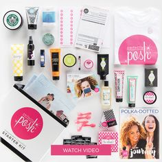 Join my Perfectly Posh team this month, and choose from TWO starter kits! The kits are awesome this month! Also, get an exclusive mask not available for purchase! https://www.perfectlyposh.com/MegRichards/join