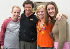 Boy, how kids grow up! This is #TheNanny family in 2014.  I always had a little celebrity crush on Charles Shaughnessy.