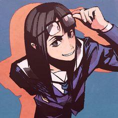 Kanamori Sayaka - Eizouken ni wa Te wo Dasu na! Character Concept, Concept Art, Character Design, Manhwa, Anime Manga, Anime Art, Simple Anime, Best Waifu, Manga Games