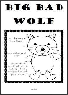 Big Bad Wolf Paper Craft