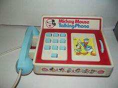 Mickey Mouse Talking Phone-dial Mary Poppins and Negelbence answered