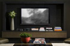 Tv Wall Unit And Floating Wooden Tv Stand