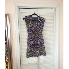 Purple Bohemian Printed dress Great print for the spring! Not Lulus, just listed for exposure. This was bought at Nordstrom. Lulu's Dresses