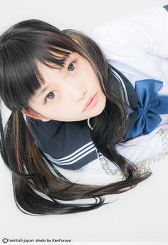 shiroino: 仔犬を拾ってきたら、翌朝、美少女に変身してました…神様ありがとう!コスプレツインテール更新!阿知波妃皇 @achinami さん登場!