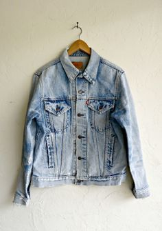"The Classic ""Washed Out"" Levi's Jacket $104.00"