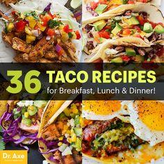Taco recipes - Dr. Axe http://www.draxe.com #health #holistic #natural