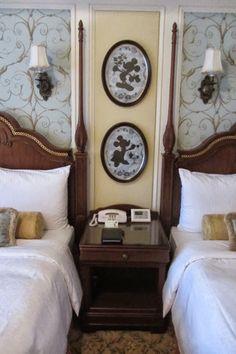 Tokyo Disneyland Hotel room