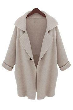 Angora sweater coat