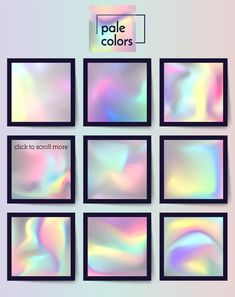Holographics & fancy gradients set by ZapolzunArt on Digital Painting Tutorials, Digital Art Tutorial, Art Tutorials, Drawing Skills, Drawing Tips, Digital Texture, Texture Art, Color Theory, Art Tips