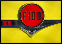Love how these colours pop on this vintage F-100 emblem on #ThrowbackThursday #ford #trucks @FordCanada @FordTrucks