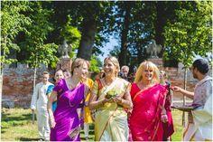 Oxnead Hall, Norfolk Wedding Venue. Outdoor Hindu Wedding Ceremony - Andy Davison Photography