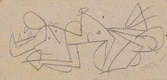 "Joan Miró (Barcelona 1893 - 1983 Palma de Mallorca) ""Chien"""