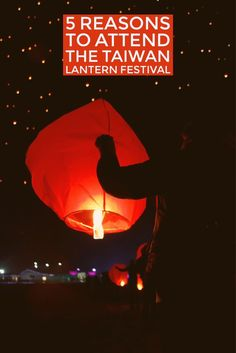 5 Reasons to Attend the Taiwan Lantern Festival -- #travel #Taiwan #Taipei #travel #traveltips #lanterns #lanternfestival #tourism #Asia