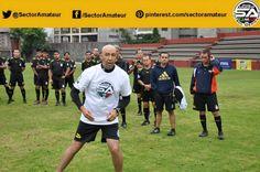 Mauricio Morales puso ejemplo de los ejercicios a realizar