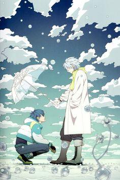 Clear x Aoba <3 (DRAMAtical Murder) i ship it btw