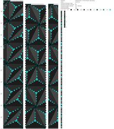 Рисуем схемы для жгутов из бисера, вышивки и др.'s photos - - Crochet Bracelet Pattern, Loom Bracelet Patterns, Crochet Beaded Bracelets, Bead Crochet Patterns, Embroidery Bracelets, Bead Crochet Rope, Bead Loom Bracelets, Jewelry Patterns, Peyote Beading Patterns