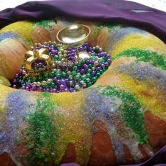 King Cake for Mardi Gras! by BakingandCooking