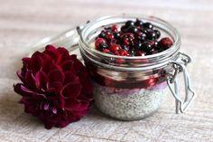 Blog Cuisine & DIY Bordeaux - Bonjour Darling - Anne-Laure: Pudding Graines Chia Banane & Fruits rouges