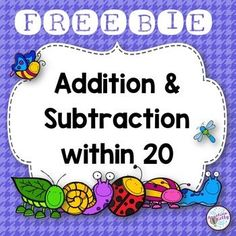 Free Addition and Subtraction within 20
