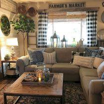 49 Inspiring Farmhouse Living Room Decor and Design Ideas