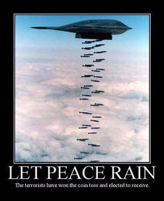 let peace rain