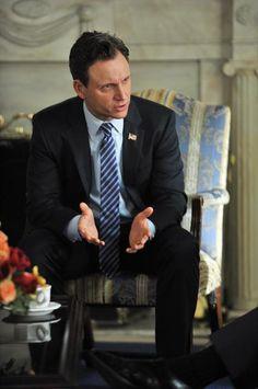 Tony Goldwyn as President Fitzgerald Grant on the ABC series Scandal