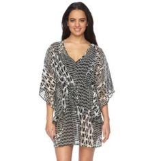 e58faec5741fd Plus Size Beach Scene Karen Crochet Hooded Cover-Up | Beach Scene ...