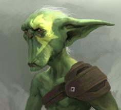 miroslav-petrov-old-orc - Arcadia Quest Fantasy Races, Fantasy Rpg, Dnd Characters, Fantasy Characters, Character Portraits, Character Art, Goblin Art, Dnd Races, Humanoid Creatures