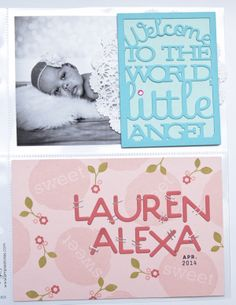 Lauren Alexa Layout by Ashley Cannon Newell for Papertrey Ink (May 2014)