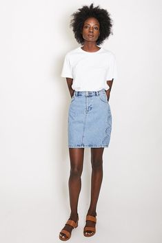Just Female Emily Denim Skirt