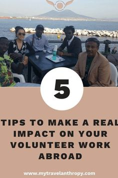 5 Tips to Make a Real Impact on Your Volunteer Work Abroad. Working Abroad can be intimidating, but don't worry, you can really make an impact with volunteering abroad! Tips to find the best volunteer program will help you also make the most impact! - My Travelantrhopy #travelabroad #volunteerabroad Volunteer Programs, Volunteer Work, Volunteer Abroad, Solo Travel Tips, Ways To Travel, Work Abroad, Responsible Travel, Travel Abroad, Culture Travel