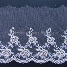 8.8cm Net Cloth Embroidery Lace # Sally Ornaments Co., Ltd
