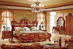 Foto de Mano de lujo de madera sólida que talla la base americana de cuero del estilo (TH-512) en es.Made-in-China.com
