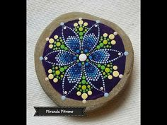 Dot painting mandala. Acrylic Painting. - YouTube