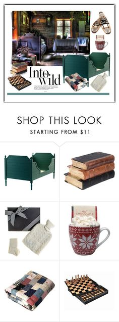 """""""Snowbound"""" by patricia-dimmick ❤ liked on Polyvore featuring interior, interiors, interior design, home, home decor, interior decorating, Anja, Black, Buccellati and Cabin"""