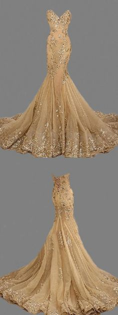 Fashion Sexy Gold Sweetheart Long Prom Dress,Handmade Gold Formal Women Evening Dress,Formal Dress Gold,Gold Prom Dress, Women Dresses · FlyinDance · Online Store Powered by Storenvy African Prom Dresses, Gold Prom Dresses, Women's Evening Dresses, Mermaid Prom Dresses, Cheap Prom Dresses, Prom Party Dresses, Trendy Dresses, Nice Dresses, Dress Prom