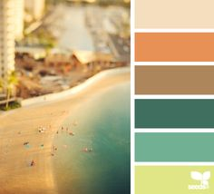 Color Palettes! Pick one color and the site with search for every palette with that color in it