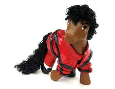 my little pony thriller   Lady GaGa And Michael Jackson Get My Little Pony Makeovers - Pictures ...