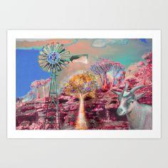 Wind Punk Quiver Heat Art Print by CrismanArt - X-Small Framed Art Prints, Fine Art Prints, Quiver, Wall Tapestry, Punk, Gallery, Artist, Artwork, Painting