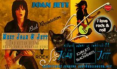 Friends of Samantha Pearl Saving Souls Meet Joan & Jett, two sister kittens currently in a foster home. They are in need of a 4ever home! Please pass this info on! I LOVE ROCK N ROLL!! Adoption: jenkins_lori@bellsouth.net