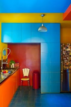 Colorblocking Your Home — This Is How You Do It+#refinery29