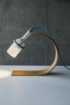 Quercus desk lamp design by Max Ashford, a product design student from Falmouth University.