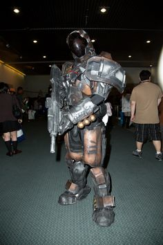 The Best Cosplay From Anime Expo - Thousands of cosplayers attended AX and we were on hand to capture s. Halo Cosplay, Cosplay Armor, Best Cosplay, Cosplay Costumes, Awesome Cosplay, Halo Armor, Halo Spartan, Halo Master Chief, Halo Game