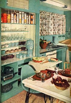 Youll flip for these 1950s kitchens (© William Howland)
