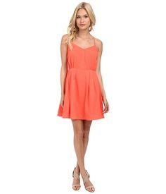Jack by BB Dakota Renrose CDC Dress Hot Coral - Zappos.com Free Shipping BOTH Ways