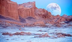 """The Valley of the Moon (Valle de la Luna), Cordillera de la Sal, Atacama Desert, northern Chile via Steve Allen"" Valley Of The Moon, Microsoft Windows, Natural Wonders, Wonders Of The World, South America, The Good Place, Travel Inspiration, Places To Visit, Around The Worlds"