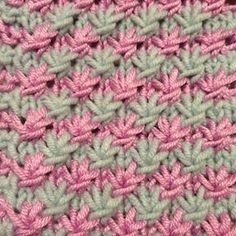 Star Stitch Pattern - Easy Knitting Stitch Pattern