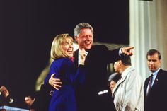 Hillary and Bill Clinton's Sweetest Moments In Photos