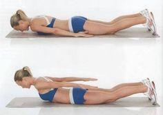Ejercicio para eliminar gorditos de la espalda